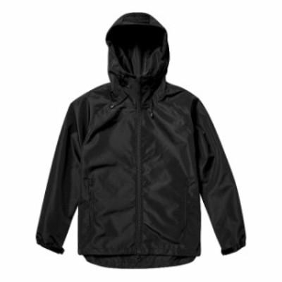 シェルパーカ ジャケット 防風性 撥水性 メンズ アウトドア S サイズ ブラック 無地 ユナイテッドアスレ CAB