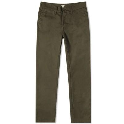 カーハート Carhartt WIP メンズ チノパン ボトムス・パンツ Sid Pant Cypress Green