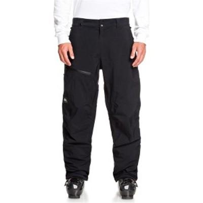 クイックシルバー メンズ カジュアルパンツ ボトムス Quiksilver Forever 2L GORE-TEX Pants True Black