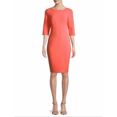 キャロライナヘレラ レディース ワンピース Wool-Blend Sheath Dress