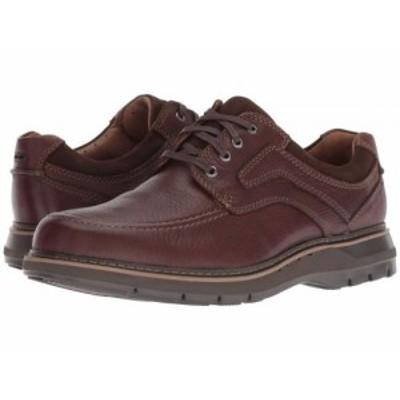 Clarks クラークス メンズ 男性用 シューズ 靴 オックスフォード 紳士靴 通勤靴 Un Ramble Lace Mahogany Leather【送料無料】