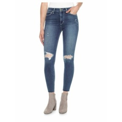 ジョーズ レディース パンツ デニム Charlie High-Rise Distressed Ankle Skinny Jeans
