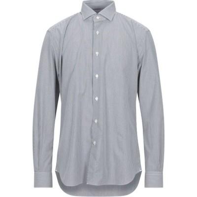 ザカス XACUS メンズ シャツ トップス Striped Shirt Black