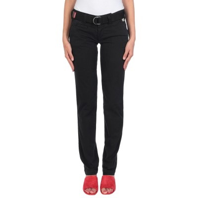 PROVENCE DE JAGGY パンツ ブラック 38 コットン 98% / ポリウレタン 2% パンツ