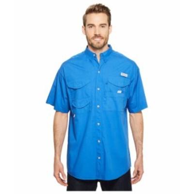 コロンビア メンズ シャツ トップス Bonehead S/S Shirt Vivid Blue