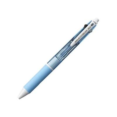 三菱鉛筆 多機能ペン ジェットストリーム 3&1 0.7mm  水色 MSXE460007.8