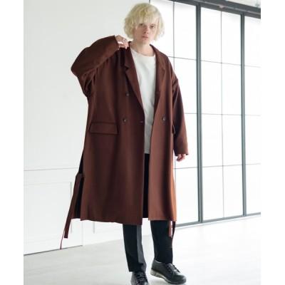 """INTER FACTORY / """"dolman double Chester coat"""" ドルマンダブルチェスターコート MEN ジャケット/アウター > チェスターコート"""