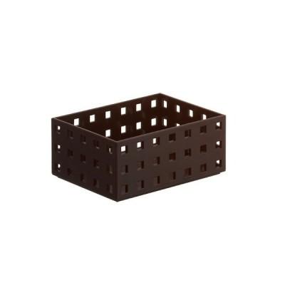 小物入れ 収納ケース ブリックス 9001 ブラウン (140 スリムM)