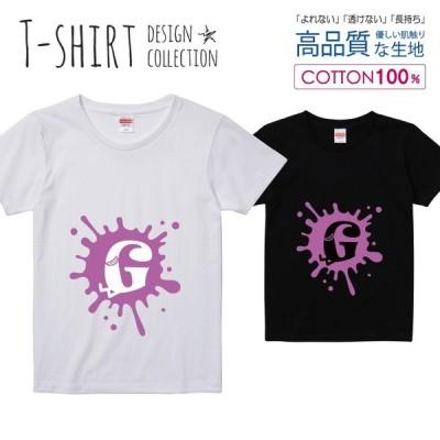 オシャレ アルファベット Tシャツ レディース ガールズ かわいい サイズ S M L 半袖 綿 プリントtシャツ コットン ギフト 人気 流行 ハイクオリティー