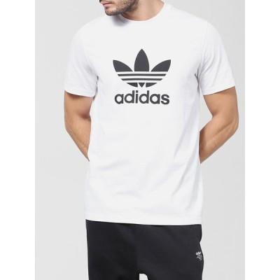 adidas ORIGINALS アディダス オリジナルス Tシャツ メンズ レディース ユニセックス 半袖 ロゴ 綿100% ブランド 白 EKF76 CW0710