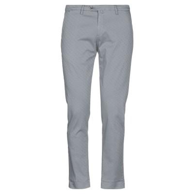 B SETTECENTO パンツ ライトグレー 35 コットン 97% / ポリウレタン 3% パンツ
