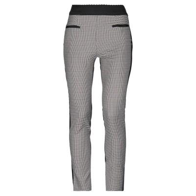 BOUTIQUE MOSCHINO パンツ ブラック 42 ナイロン 74% / ポリウレタン 26% / バージンウール パンツ