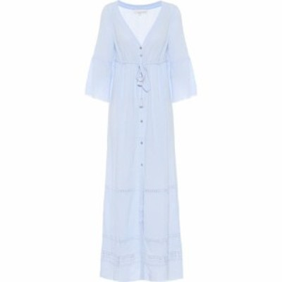ハイジ クライン Heidi Klein レディース ワンピース マキシ丈 ワンピース・ドレス Bora Bora Cotton Maxi Dress Blu/Lig