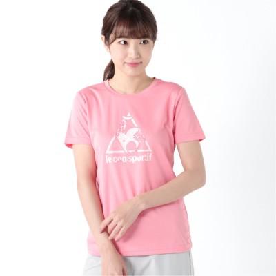 レディース ロゴ半袖Tシャツ(ルコックスポルティフ/le coq sportif)
