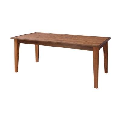 ダイニングテーブル ヘリンボーン 幅180cm テーブル ダイニング 木製 机 木製ダイニングテーブル