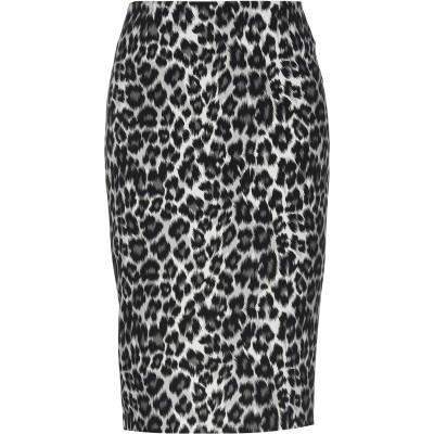 ピンコ PINKO 7分丈スカート ブラック 40 ポリエステル 90% / ポリウレタン 10% 7分丈スカート