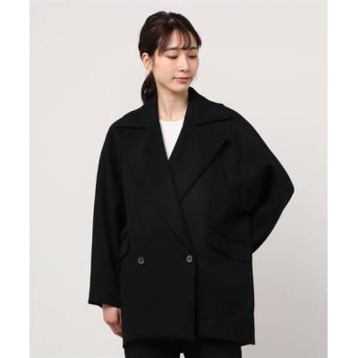 UNCUT BOUND / CYNICAL(シニカル) ミディアムコート WOMEN ジャケット/アウター > ピーコート
