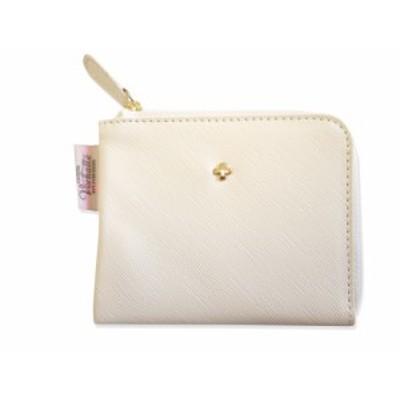 【送料無料】コインポーチ 白 VR-025-WH  コインケース インナーポケット付きホワイト カリーノ・フォアハル お札が二つ折りで入る財布