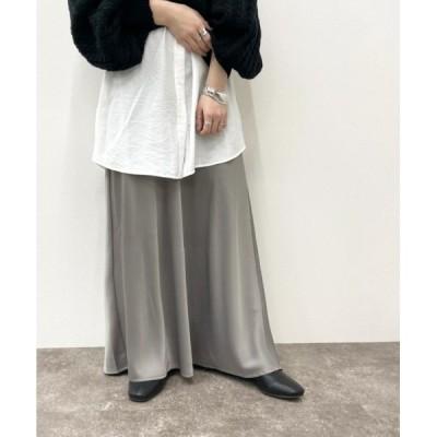 スカート サテンマーメイドスカート【ZOZOTOWN限定アイテム】