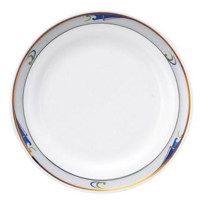 業務用食器 ブルーウェーブ 6.5吋パン皿 φ16.7cm