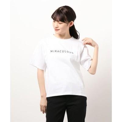 tシャツ Tシャツ コットンロゴシンプルT