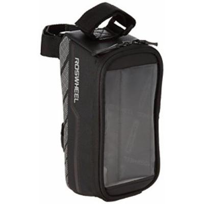 【CENTE】ROSWHEEL(ロスホイール) フレーム タッチスクリーンバッグ バージョン6 [ Mサイズ ] ベルクロ3か所固定 ブラック 【正規品】 12