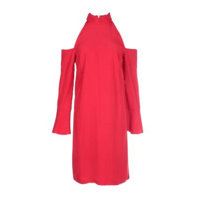 ピンコ PINKO ミニワンピース&ドレス レッド 42 アセテート 66% / レーヨン 34% ミニワンピース&ドレス