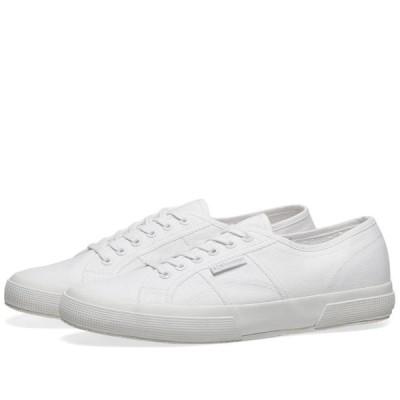 スペルガ Superga メンズ スニーカー シューズ・靴 2750 Cotu Classic Total White