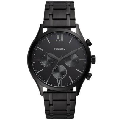 フォッシル メンズ 腕時計 アクセサリー Men's Fenmore Multifunction Black Bracelet Watch 44mm