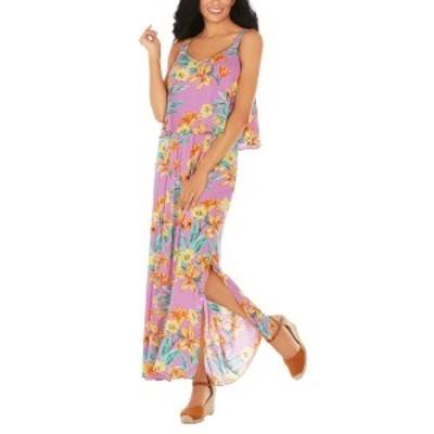 カリビアンジョー レディース ワンピース トップス Caribbean Joe Maxi Dress pink
