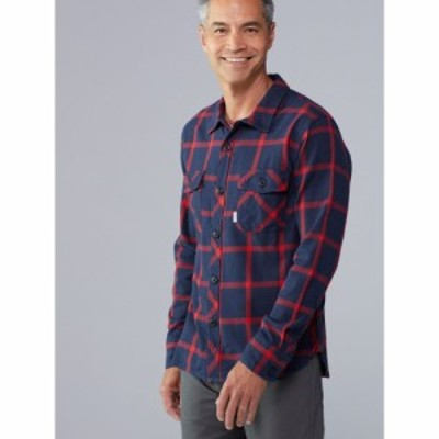 トポ デザイン Topo Designs メンズ トップス Field Plaid Shirt navy/red