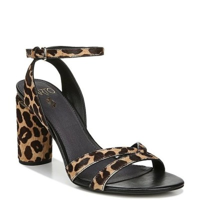 フランコサルト レディース サンダル シューズ Sarto By Franco Sarto Omaha2 Leopard Print Calf Hair Dress Sandals