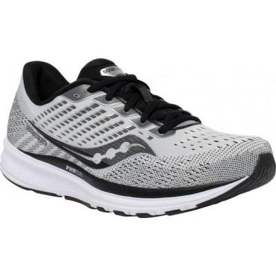 サッカニー Saucony メンズ ランニング・ウォーキング スニーカー シューズ・靴 Ride 13 Running Sneaker Alloy/Black