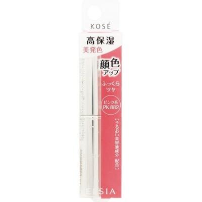 コーセー エルシア プラチナム 顔色アップ エッセンスルージュ ピンク系 PK882 3.5g