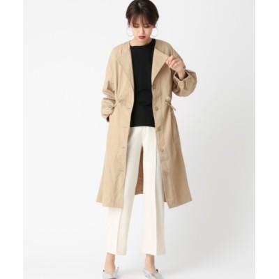 COLONY 2139 / チノツイルノーカラーモッズコート WOMEN ジャケット/アウター > モッズコート