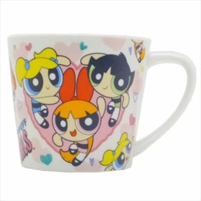 ◆パワーパフガールズ 陶器製MUG/ハート (アニメグッズ)プレゼント、贈り物、お土産,キャラクターグッツ通販、(428)