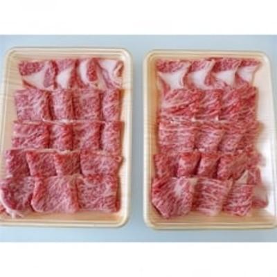 A5等級飛騨牛:焼き肉用約1kg ロース又は肩ロース肉