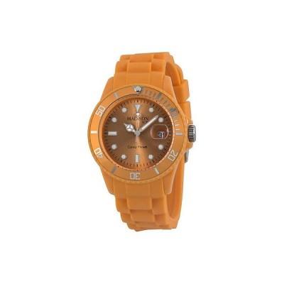 海外セレクション 腕時計 Madison Candy Time オレンジ ユニセックス 腕時計 U4167-22-1