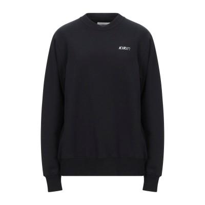 KIRIN PEGGY GOU スウェットシャツ ブラック XL コットン 100% / ポリウレタン スウェットシャツ