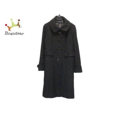 ジャスグリッティー JUSGLITTY コート サイズ2 M レディース - 黒 長袖/ラメ/冬   スペシャル特価 20210108