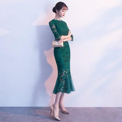 パーティードレス 安い 可愛い ドレス ロングドレス