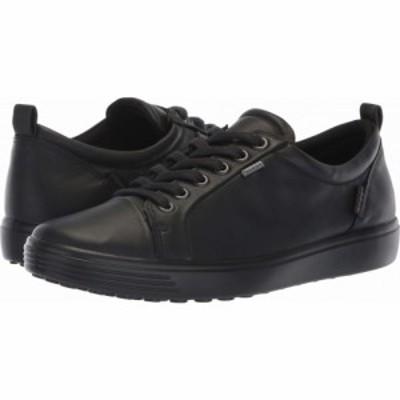 エコー ECCO レディース シューズ・靴 Soft 7 GORE-TEX Tie Black Cow Leather