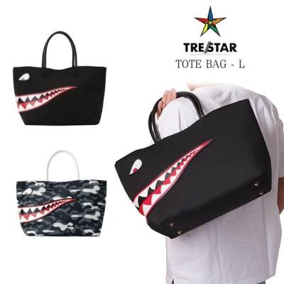 TRE☆STAR トレスター シャークトート Lサイズ SHARK TOTE L トートバッグ 星 メンズ レディース