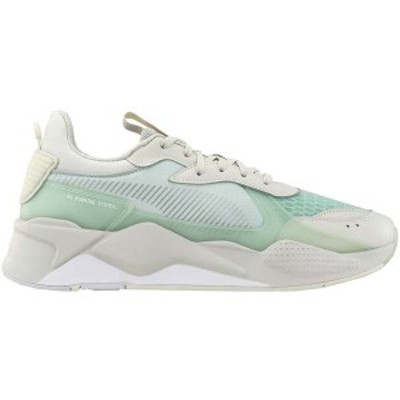 プーマ メンズ スニーカー シューズ RS-X Tech Lace Up Sneakers Vaporous Gray / Fair Aqua