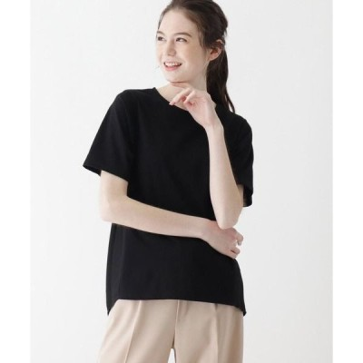 SHOO・LA・RUE / シューラルー 【M-LL】天竺×バックプリーツTシャツ