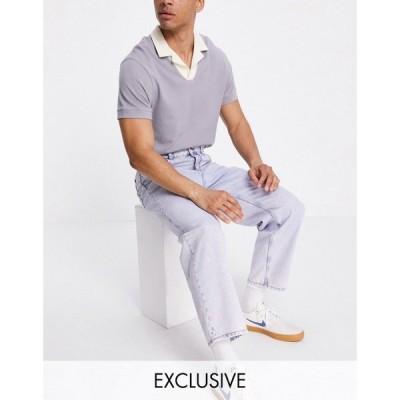 リクレイム ヴィンテージ Reclaimed Vintage メンズ ジーンズ・デニム inspired the 94' classic jean in super bleach sustainable wash ブルー