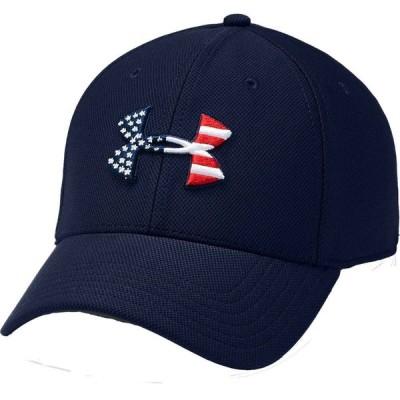 アンダーアーマー Under Armour メンズ 帽子 Freedom Flag Blitzing Hat Navy