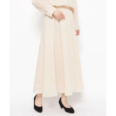 Airpapel / エアパペル 【ハンドウォッシュ】フレアギャザーロングスカート