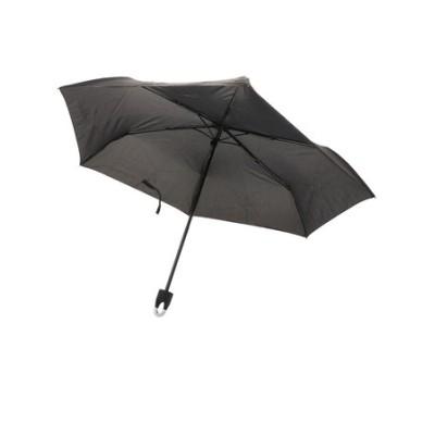 クラックス(CRUX)53.5cm カラビナ付き紳士折傘 BK CR 431435