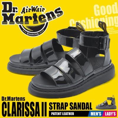 DR.MARTENS ドクターマーチン サンダル クラリッサ 2 24822001 メンズ レディース 靴 黒 レザー
